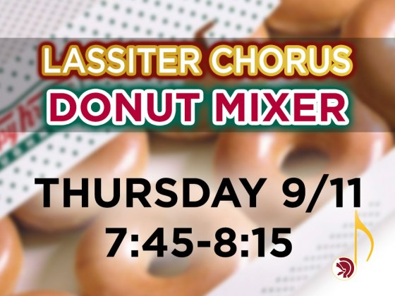 Donut Mixer - Fall 2014